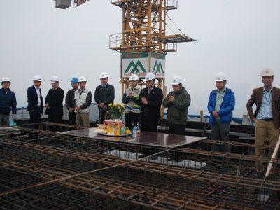 Lễ cất nóc dự án Star Tower – 283 Khương Trung, Thanh Xuân, Hà Nội