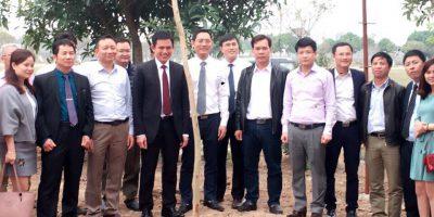 Công ty VIDEC ra quân triển khai dự án và trồng cây làm theo lời Bác