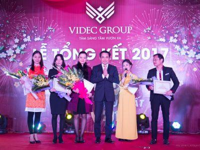 Lễ tổng kết, liên hoan cuối năm của Tập đoàn VIDEC – Chào xuân mới