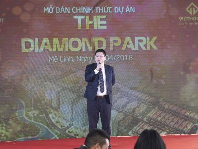 85% sản phẩm liền kề The Diamond Park có chủ