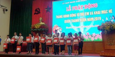 VIDEC Group chung tay hỗ trợ trẻ em khó khăn quận Thanh Xuân