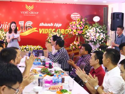 VIDEC Group 16 năm Thành lâp