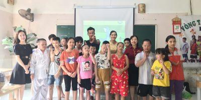 VIDEC Group thăm lớp học tình thương xã Yên Thường