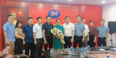 Chi bộ VIDEC Group kết nạp Đảng viên mới