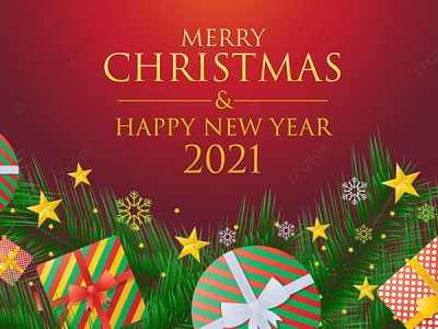 Merry Christmas & Happy New Year 2021